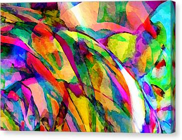 Welcome To My World Dissection 1 Canvas Print by Angelina Vick