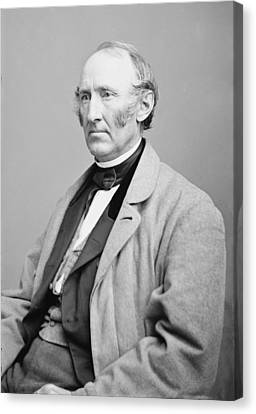 Wendell Phillips 1822-1884, American Canvas Print by Everett