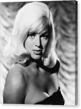 West 11, Diana Dors, 1963 Canvas Print by Everett