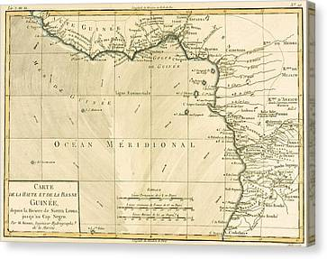 West Africa Canvas Print by Guillaume Raynal