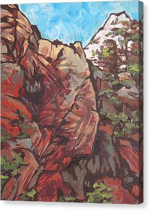 West Fork Canvas Print by Sandy Tracey