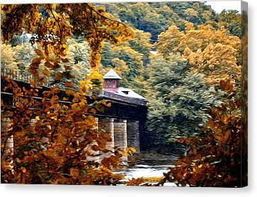 West Virginia Morn Canvas Print by Bill Cannon