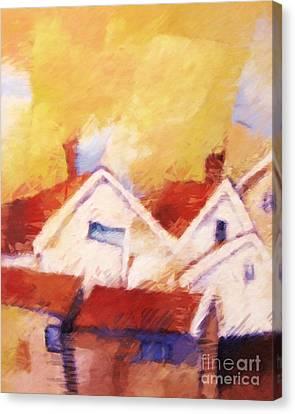 Westcoast Sweden Canvas Print by Lutz Baar