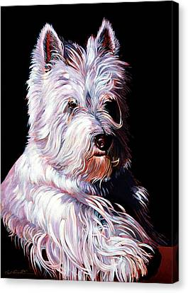 Westy Canvas Print by Bob Coonts