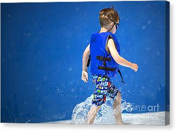 What Life Is All About Canvas Print by Gwyn Newcombe