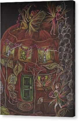 What To Bake... Canvas Print by Dawn Fairies