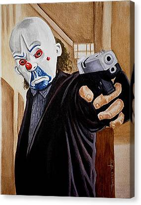 Whatever Doesn't Kill You Simply Makes You Stranger Canvas Print by Al  Molina