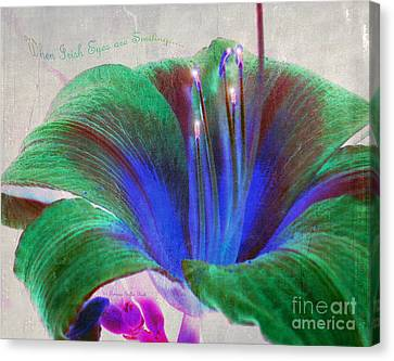 When Irish Eyes Are Smiling Canvas Print by Patricia Griffin Brett