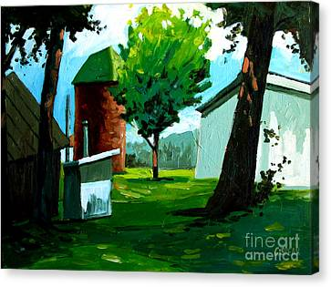 When Pat Loved Larry Canvas Print by Charlie Spear