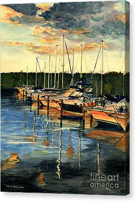 When The Evening Come Canvas Print by Melly Terpening