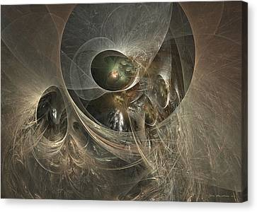 Where Angels Live Canvas Print by Sipo Liimatainen