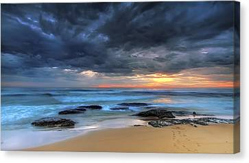 Where One Once Stood Canvas Print by Mark Lucey