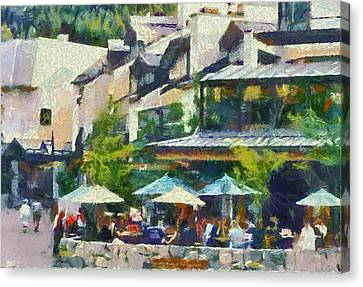 Whistler Two Canvas Print by Dale Stillman