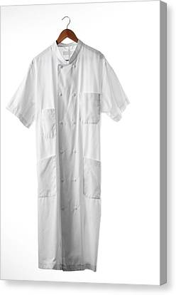 White Coat Canvas Print by Arno Massee