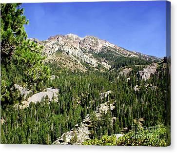 White Rock Mountain Canvas Print by The Kepharts