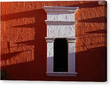White Window Canvas Print by RicardMN Photography