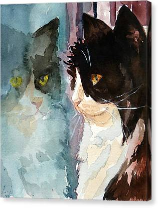 Who Are You Canvas Print by P Maure Bausch