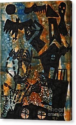 Wicked Canvas Print by Stephanie Ward