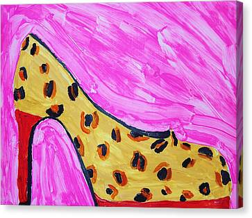 Wild By Design Canvas Print by Rebecca Glorioso