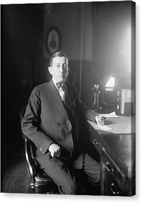 Will Hays 1879-1954, A Lawyer Canvas Print by Everett