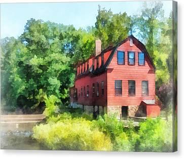 Williams-droescher  Mill Canvas Print by Susan Savad