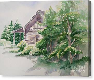 Will's Cabin Canvas Print by Sally Simon