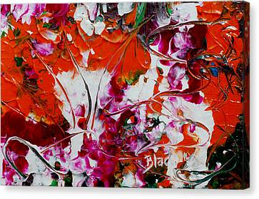 Wilted Flowers Canvas Print by Donna Blackhall