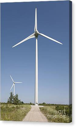 Wind Turbines Canvas Print by Jaak Nilson