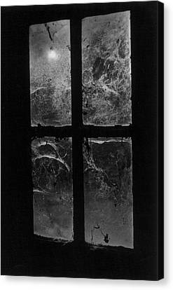 Window At Castle Frankenstein Canvas Print by Simon Marsden