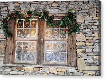 Window In The Old Mill Canvas Print by Jan Amiss Photography