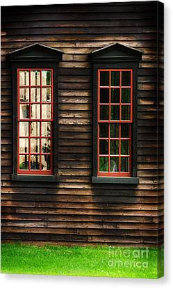 Window Of New England Canvas Print by HD Connelly