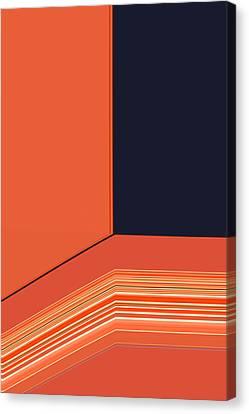 Window Seat Canvas Print by Bonnie Bruno