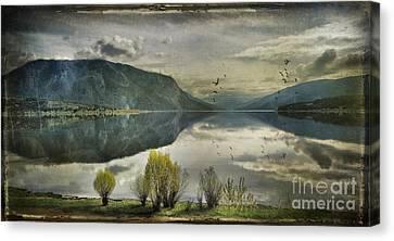 Window View Canvas Print by Kym Clarke