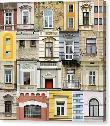 Windows Canvas Print by Jaroslaw Grudzinski