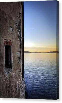 Windows Of A Monastery Canvas Print by Joana Kruse