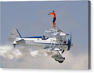 Wing Walker Canvas Print by Eric Miller