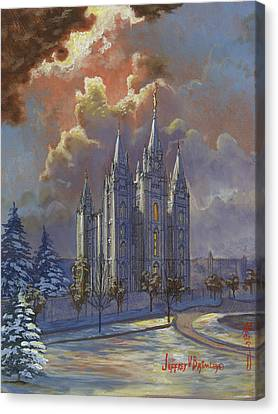 Winter Solace Canvas Print by Jeff Brimley