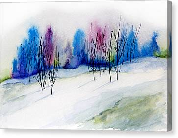 Winter Sorbet Canvas Print by Lynne Furrer