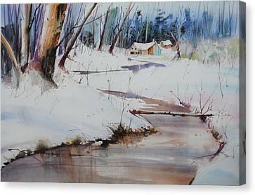 Winter Wonders Canvas Print by P Anthony Visco