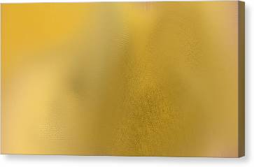 Wise Golden Yellow Canvas Print by Rosana Ortiz