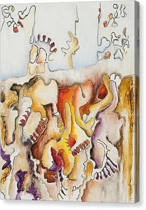 Wistful Canvas Print by Vianne Korhorn