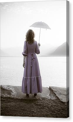 Woman With Parasol Canvas Print by Joana Kruse
