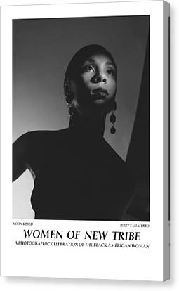 Women Of A New Tribe - Moon Kissed Canvas Print by Jerry Taliaferro