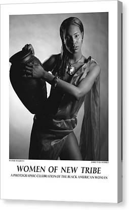 Women Of A New Tribe - Water Maiden I Canvas Print by Jerry Taliaferro