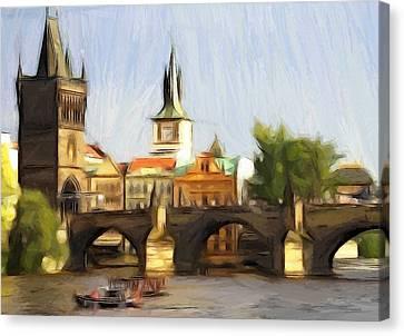 Wonderful Prague Canvas Print by Steve K