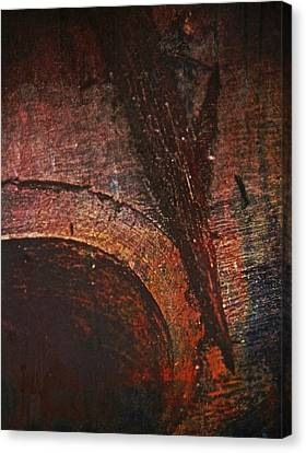 Wood Abstract Canvas Print by Odd Jeppesen