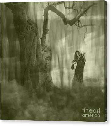 Wood Sonata Canvas Print by Witaliy Sapeka