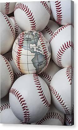 World Baseball Canvas Print by Garry Gay