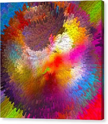 World Blocks Canvas Print by Betsy C Knapp