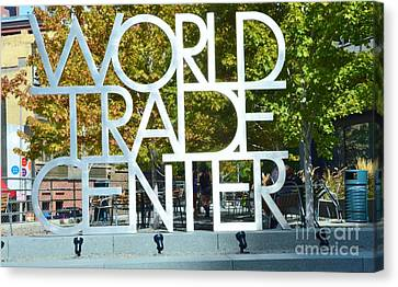 World Trade Center Canvas Print by Kathleen Struckle